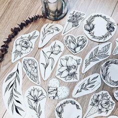 """1,578 curtidas, 2 comentários - Tattoo Studio (@pakhanoff.tattooart) no Instagram: """"Новые веточки от начинающего мастера @yu.tattooo  Бронь эскиза/запись на сеанс  директ или…"""""""