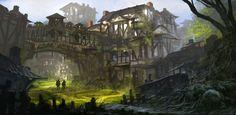 Resultado de imagen para video game environment art
