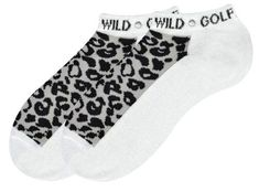 Check out our Wild Golfer (White w/Animal Print) K Bell Ladies Golf Sport Socks! Find the best golf gear and accessories at Lori's Golf Shoppe. Click through now to see this Socks!