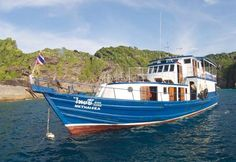 MV Thai Sea is a Thailand diving liveaboard with a difference. Not only is she designed and built for small groups of divers, but she also is sails from Ranong and offers different itineraries to most Similan Islands diving vessels.