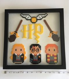 Home decor. Perler beads/pixel art/hama beads - Bügelperlen - Home Sweet Home Perler Bead Designs, Perler Bead Templates, Hama Beads Design, Diy Perler Beads, Perler Bead Art, Perler Bead Disney, Melty Bead Patterns, Pearler Bead Patterns, Perler Patterns