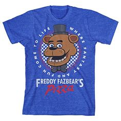 Five Nights At Freddy's Pizza Boys Youth T-shirt Licensed...