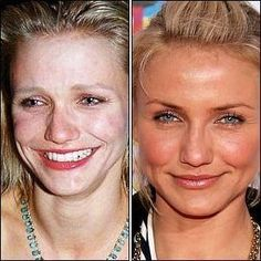 Celebrities without makeup | The Model Stage Blog