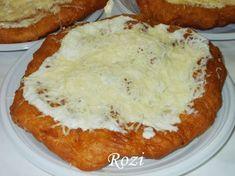 Rozi erdélyi,székely konyhája: Krumplis lángos Hungarian Recipes, Baked Potato, Mashed Potatoes, Goodies, Food And Drink, Healthy Eating, Yummy Food, Sweets, Breakfast