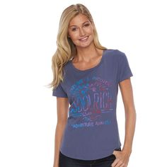 Women's Woolrich Eco Rich Graphic Tee, Blue