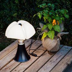 MINI PIPISTRELLO - Lampe Noir LED H35cm Martinelli Luce