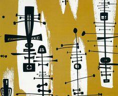 mid century modern graphic design