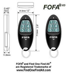 2-Way RF FOFA® Find One Find All® Key Finder, Wallet Finder, Cell Phone Finder, Remote Control Locator. Set of 2 2-Way Operation - No Base Needed Loud 90+dB 2-tone Sound + Flashing Light Proximity Detect(TM) Radio Feedback Feature. Expandable to 36 Units per household http://www.amazon.com/gp/product/B001TLEXES/ref=as_li_tl?ie=UTF8&camp=1789&creative=390957&creativeASIN=B001TLEXES&linkCode=as2&tag=pinterest069-20&linkId=3F3FQYLLM5VYYICS