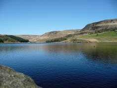 Saddleworth-the blue waters of Dovestone Reservoir