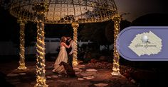 You can't get ANY more romantic than our waterfall gazebo setting. It's GORGEOUS!!