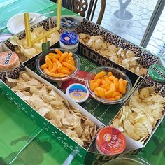 Super Easy Football Party Food Ideas