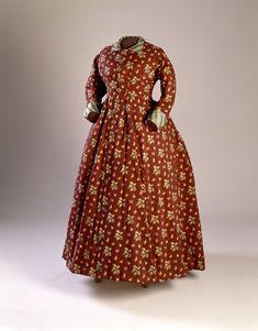 Dress, 1875-80.