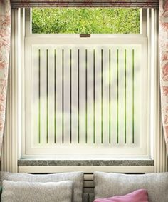 Window privacy film... instead of net curtains?