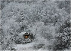 I have always wanted to spend a winter weekend in a place exactly like this! Maybe someday!