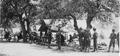 The 1st California Infantry at Fort Huachuca, Arizona. 1916, Mexican Border War.