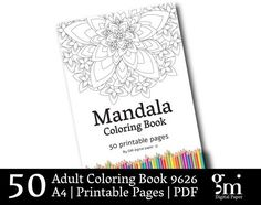 Coloring Book, Adult Coloring Pages, Coloring Book Pages, Mandala Coloring Pages,