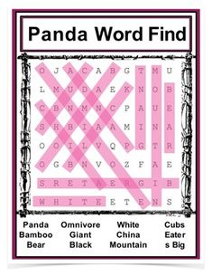 Giant Pandas Powerpoint by Panda Information, Types Of Pandas, Panda Facts, J Words, Study German, Giant Pandas, Life Cycles, Fun Facts, Student