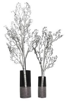 Bendable Artificial Manzanita Branches - Silver - Large * Read more  at the image link.