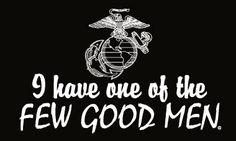 """I have one of the Few Good Men."" #usmc - MilitaryAvenue.com"