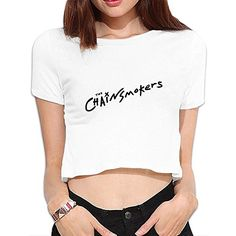 The Chainsmokers Short Sleeve Easeful Lady T Shirts Morden Women's