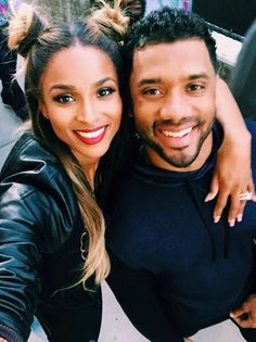 Ciara and husband Russell Wilson expection there first child. CONGRATS!!!!!!