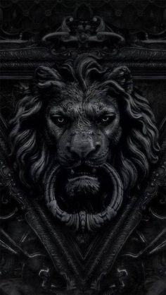 lionhead door knocker
