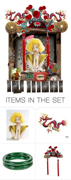 """Oriental Beauty!"" by diannecollier ❤ liked on Polyvore featuring art and polyvoreeeditorial"