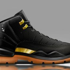 1cb04742a95b Jordan XII meets Timberland. Sneakerboot Concept for the Winter. Painted  with Photoshop  conceptkicks
