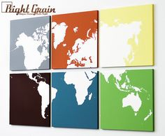 Hey, I found this really awesome Etsy listing at https://www.etsy.com/listing/99083183/large-modern-painting-world-map-wall