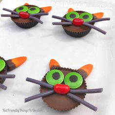 Halloween is no let down when it comes to adorable and spooky treats. This Mini Spider Donut Snack is a fun edible craft for kids to make this October. Halloween treat ideas like this are easy to make either for a Halloween party or just as an afternoon snack while the kids watch their favorite spooky movies. This cute Halloween treat for kids is made from chocolate donuts, pretzels, and candy eyes making for a little spider that's almost too cute to eat! Hand them out on Hallowee...