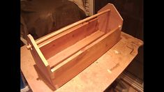 tool box (old school style) - Margaritis (Takis) Kailos Pine Boards, School Style, School Fashion, Hope Chest, Tool Box, Old School, Tools, Videos, Home Decor