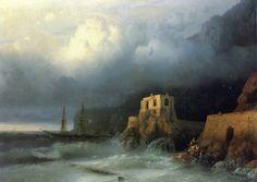 Ivan Aivazovsky - The Rescue (1857)
