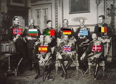 1910: Nine Kings in one picture