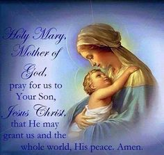Blessed Virgin Mary!