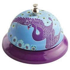 Pretty as a Peacock Purple Bell