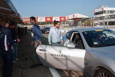 First lap as a passenger. #Maserati