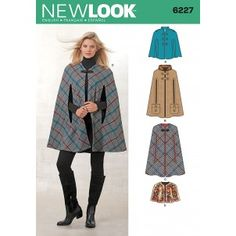 New Look 6227 cloaks