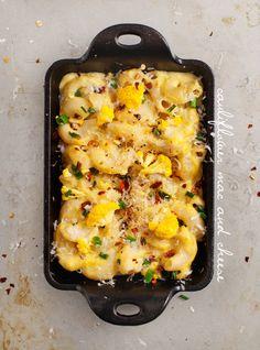 cauliflower mac and cheese (vegan & gluten-free options)