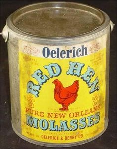 Red Hen Molasses Tin Vintage Pantry, Vintage Jars, Vintage Kitchen, Red Hen, Old Advertisements, Tin Containers, Vintage Packaging, Grandma's House, Tin Cans