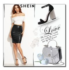 """SheIn 4 / XVI"" by selmamehic ❤ liked on Polyvore"