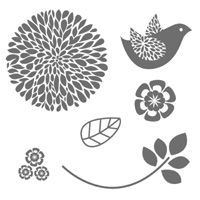 Stampin Up - Betsy's Blossoms (Clear 126006, Wood 131955)  Australia Only - Buy Online now:  http://www3.stampinup.com/ECWeb/default.aspx?dbwsdemoid=4008856
