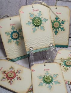 Dragonfly Journeys: Holiday Tags ~