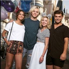 Maia, Ross, Grace and Garrett Disney Channel Original, Disney Channel Stars, Disney Stars, Team Beach Movie, Bradley Steven Perry, Calum Worthy, Teen Beach 2, Classical Music Composers, Disney Pictures