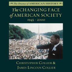 "Christopher Collier fans! His ""The Changing Face of American Society, 1945-2000"" (The Drama of American History Series) was recently published in audio. Sample it here:"