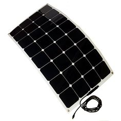 Grape Solar PhotoFlex Semi-Flexible Monocrystalline PV Solar Panel with 8mm Barrel Connector for Use with Goal Zero Nomad and Yeti, 100-Watt Grape Solar http://www.amazon.com/dp/B00TSDZ36G/ref=cm_sw_r_pi_dp_iCKUvb1C9CCCZ