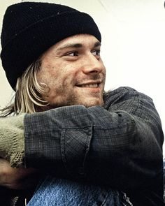 Kurt Cobain in Bristol, UK. November 4th, 1991. Photo by Richard Bellia.