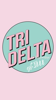 SOUTH BY SEA | @southbyseacollege ✰ Delta Delta Delta | Tri Delta | Levi Strauss | Retro Vintage | Sorority Graphics | Sorority Wallpapers | Sorority Shirts | South by Sea Original