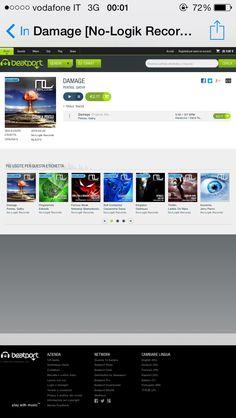 New top tune out now! Gathy & Pentax - Damage [NO-LOGIK REC] #TECHNO - #EDM - #WMC2014 - #TOPTUNE http://www.beatport.com/release/damage/1237528