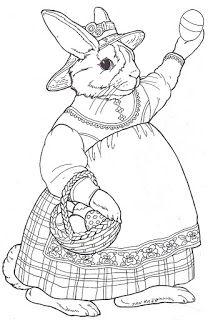 Jan Brett: inkspired musings: Do the Bunny Hop