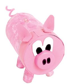 9 Cute Pig Arts And Crafts Ideas for Kids and Toddlers Pig Crafts, Craft Stick Crafts, Craft Ideas, Plate Crafts, Preschool Crafts, Paper Crafts For Kids, Arts And Crafts, Mickey Mouse Crafts, Minnie Mouse